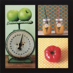 Balance et fruits