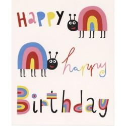 Coccinelles Happy Birthday