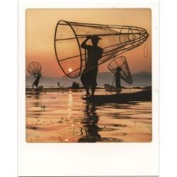 Pêcheurs sur le lac Inle,...