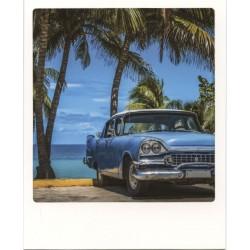 Voiture américaine bleue, Cuba